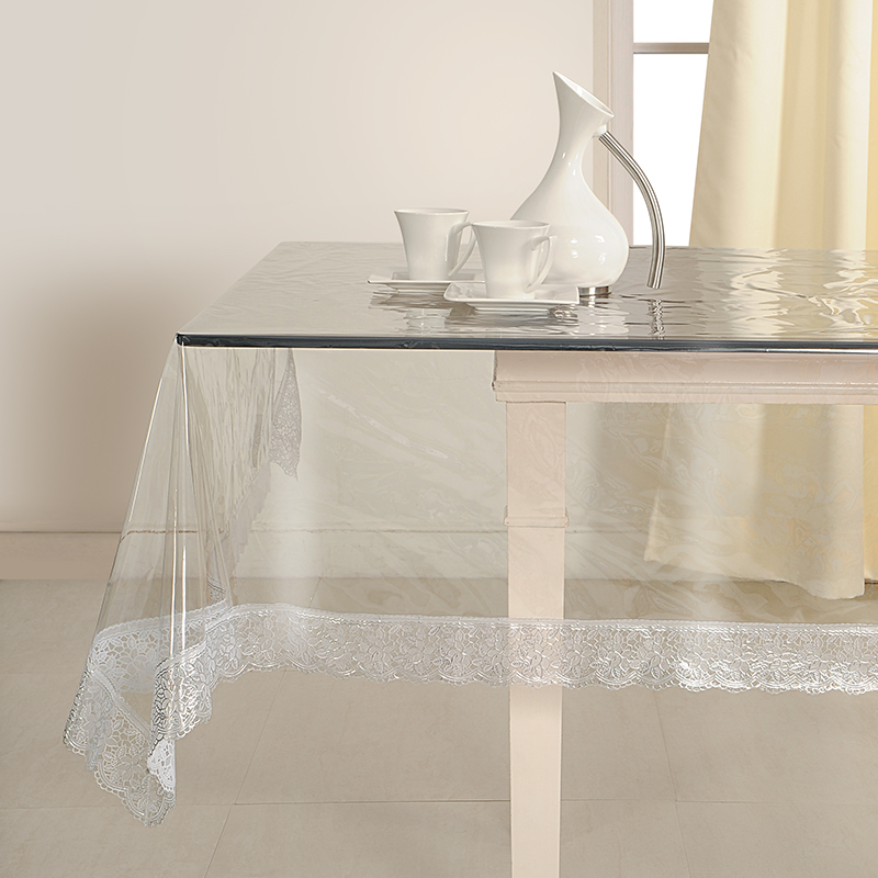 super soft silver table cover