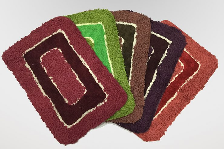 BATH MAT NOODLE TWO TONE