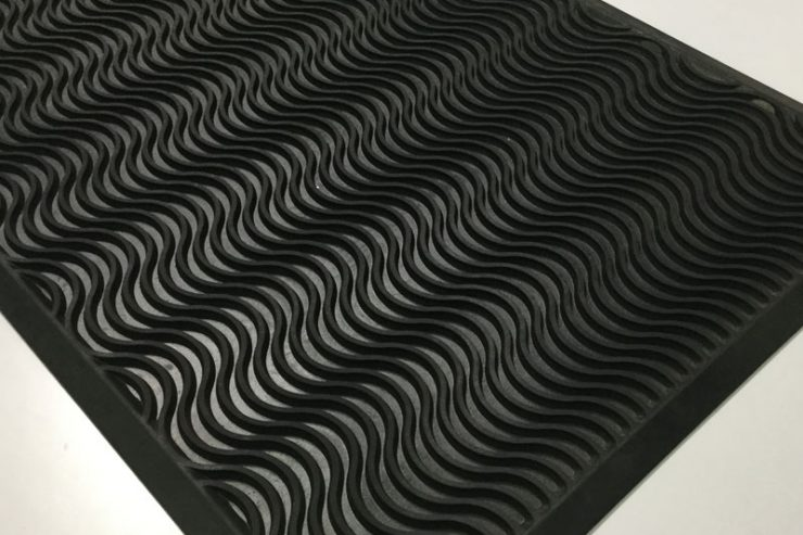 RUBBER-MAT-WAVES