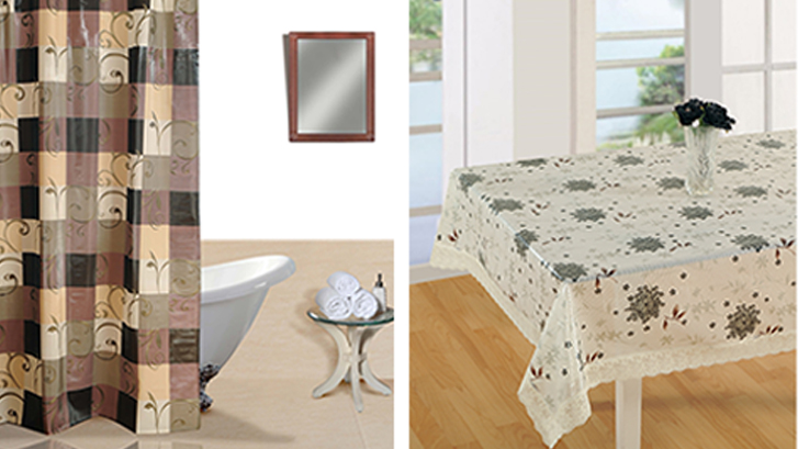pvc home furnishing
